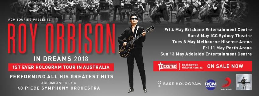 Roy Orbison | In Dreams Hologram Tour
