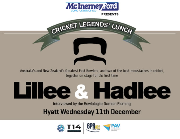Cricket Legends Lunch: Lillee & Hadlee